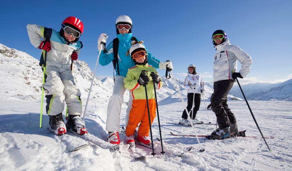 Familien-Skiurlaub im Brandnertal