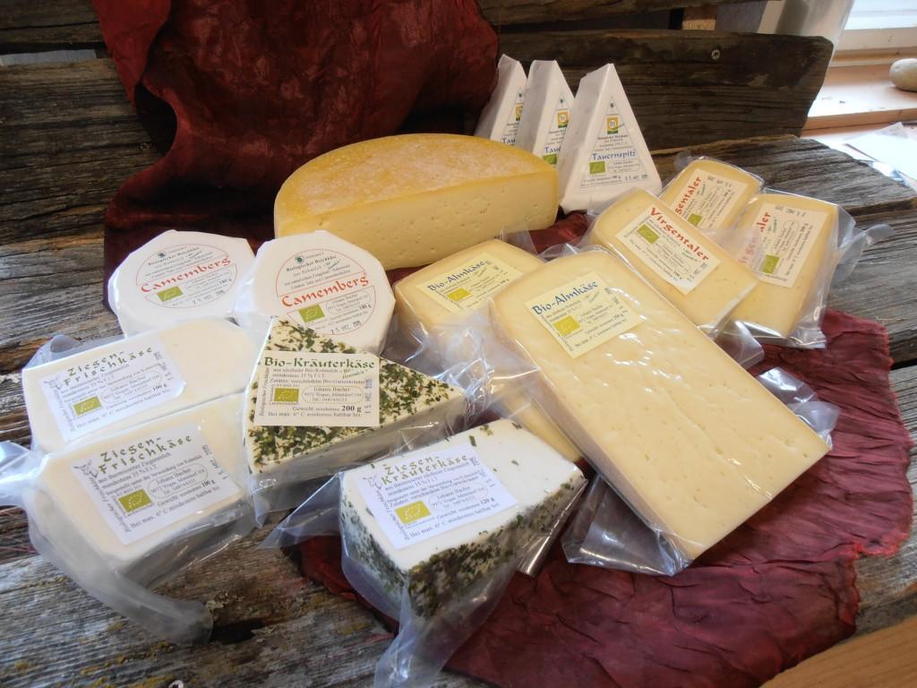 Bacherhofkäse Virgentaler Käse Bauernladen Virgen