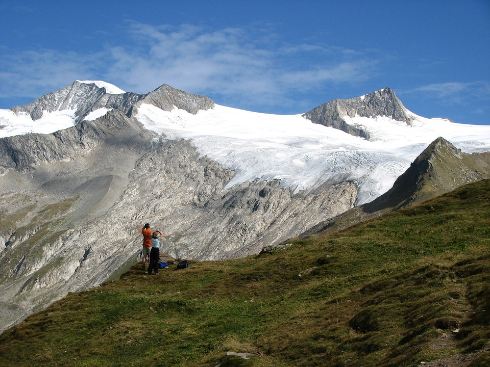 Großvenediger Gletscher Alpen