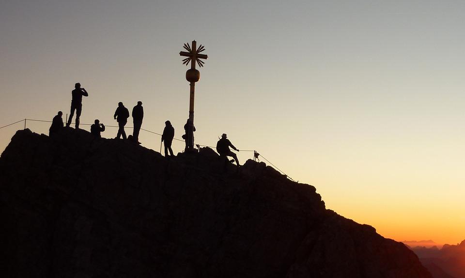 Zugspitze Sonnenaufgang