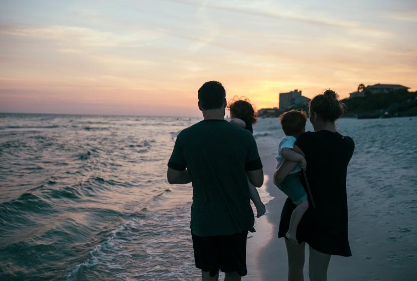 romantische Ferien im Ausland Paare