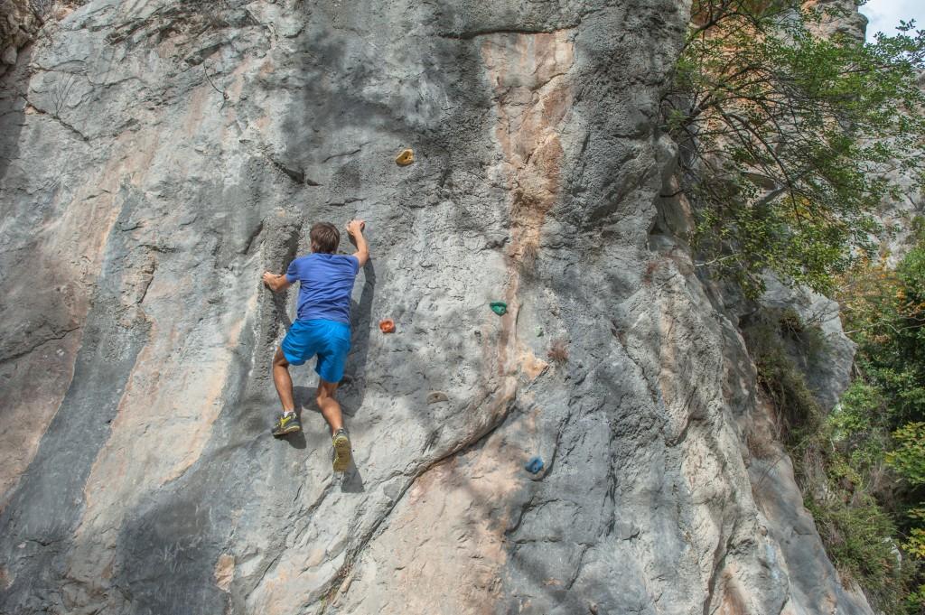 Für Klettereinsteiger: <br />Was man beachten sollte!