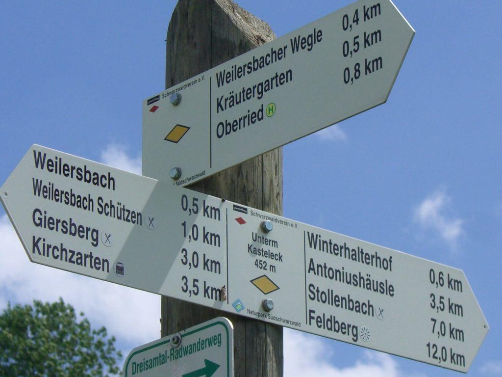 Wanderwege Schwarzwald