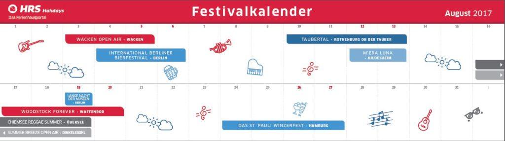Festivals August